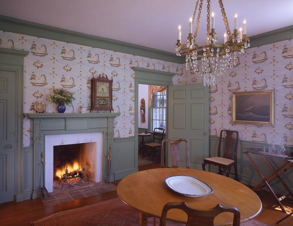 UNION,maine,architecture,fireplace,fedeeral,alden house,dental