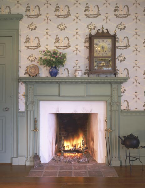 union,maine,architecture,federal,dental trim,crown molding,alden house,fireplace