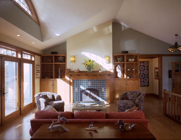 cushing,maine,architecture,fireplace,tile,ceramic,gas