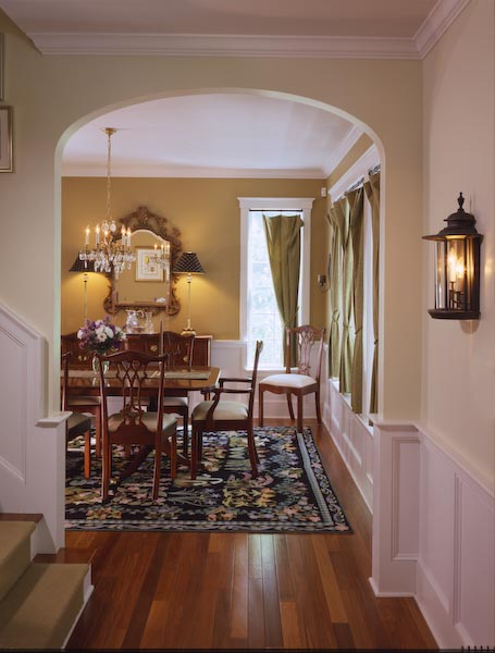 camden,maine,dining room,foyer,lighting,color